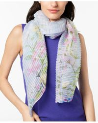INC International Concepts - I.n.c. Garden Growth Pleated Scarf, Created For Macy's - Lyst