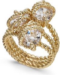 Charter Club - Gold-tone Crystal Wrap Ring, Created For Macy's - Lyst
