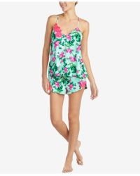 Betsey Johnson - Embroidered Camisole Pajama Set - Lyst