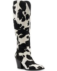 INC International Concepts Suke Western Boots, Created For Macy's - Black