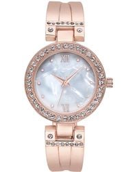 Charter Club - Rose Gold-tone Bracelet Watch 32mm, Created For Macy's - Lyst