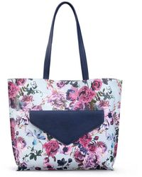 The Sak Elliott Lucca Delphine 2 In 1 Tote - Blue
