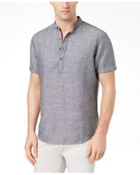 INC International Concepts - Cameron Linen Shirt, Created For Macy's - Lyst