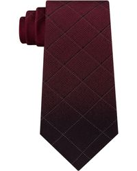 Kenneth Cole Reaction - Men's Ombré Windowpane Check Silk Tie - Lyst