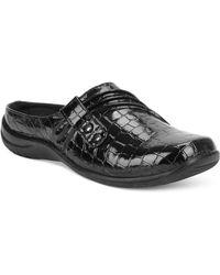 Easy Street Holly Comfort Mules - Black