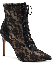 INC International Concepts - Indira Lace-up Booties, Created For Macy's - Lyst
