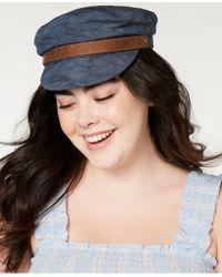 Frye Canvas Fiddler Hat - Blue