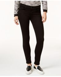 Flying Monkey - Clean White Wash Ankle Skinny Jeans - Lyst