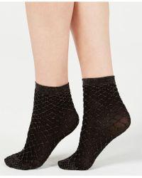 INC International Concepts - I.n.c. Metallic Fishnet Anklet Socks, Created For Macy's - Lyst