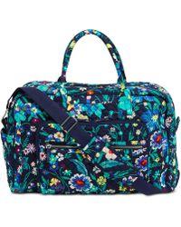 Vera Bradley Iconic Weekender Travel Bag - Multicolor