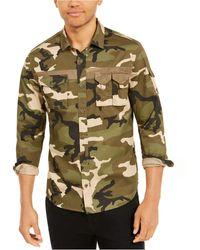 Sean John Utility Flight Shirt - Green