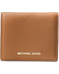 Michael Kors - Mercer Flap Card Holder - Lyst