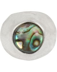 Robert Lee Morris - Silver-tone & Stone Statement Ring - Lyst