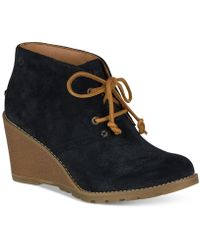 Sperry Top-Sider - Women's Stella Prow Wedge Ankle Booties - Lyst