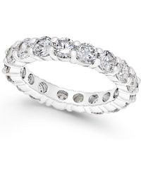 Charter Club | Crystal All-around Ring | Lyst