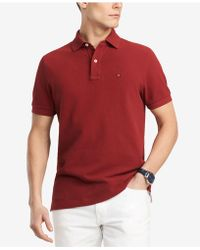 358a9d249 Tommy Hilfiger - Big & Tall Classic Fit Ivy Polo, Created For Macys - Lyst