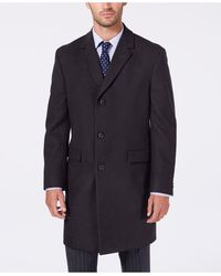 Nautica - Melton Classic/regular Fit Batten Overcoat - Lyst
