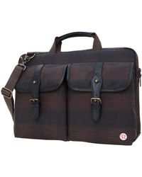"Token Waxed Knickerbocker 15"" Laptop Bag - Black"