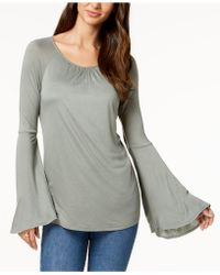 Style & Co. - Lantern-sleeve Top, Created For Macy's - Lyst