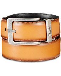 Original Penguin - Amigo Reversible Leather Belt - Lyst