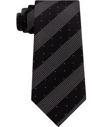 Kenneth Cole Reaction - Men's Dotted Stripe Silk Tie - Lyst