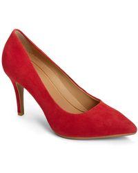 Aerosoles Deal Breaker Court Shoes - Red