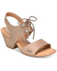 b.ø.c. Blaire Sandals - Brown