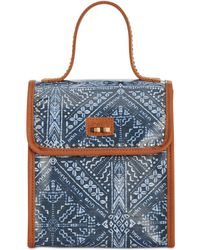 The Sak Pacifica Lunch Bag, Created For Macy's - Blue