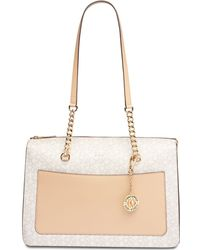 DKNY - Bryant Signature Zip Tote, Created For Macy's - Lyst