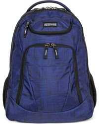 Kenneth Cole Reaction - Tribute Backpack In Griddle Blue - Lyst