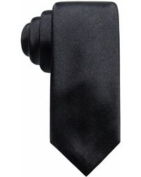 Alfani | Satin Solid Slim Silk Tie, Created For Macy's | Lyst