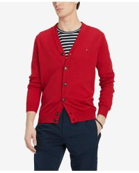Tommy Hilfiger - Signature Cardigan Sweater, Created For Macy's - Lyst