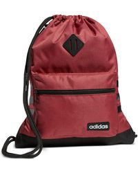 adidas Classic 3s Sackpack - Red