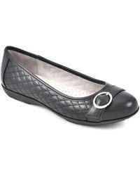White Mountain Footwear Ballet Flats - Black