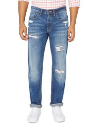 Nautica Original Relaxed-fit Destroyed Jeans - Blue