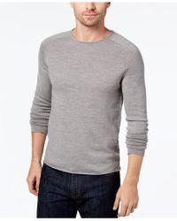 Daniel Hechter - Men's Raw Edge Merino Wool Sweater - Lyst