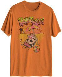 Hybrid Roast Beef Short Sleeve Graphic T-shirt - Orange