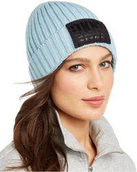 DKNY - Fleece-lined Knit Beanie - Lyst