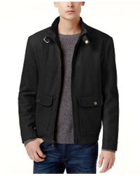 Kenneth Cole | New York Wool-blend Bomber Coat | Lyst