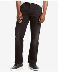 Levi's 559 Relaxed Straight-fit Jeans - Black