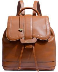 Radley Devonport Mews Medium Flapover Backpack - Brown