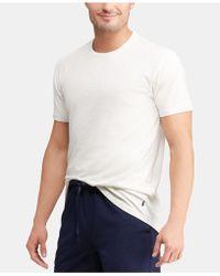 9c554b67ac Polo Ralph Lauren Men's Supreme Comfort Knit Pajama Pants in Black for Men  - Lyst