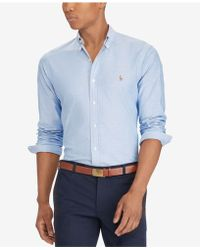 Polo Ralph Lauren | Slim-fit Stretch-oxford Shirt | Lyst