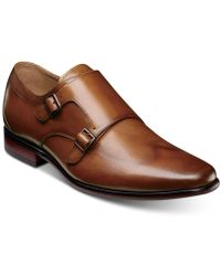 Florsheim The Angelo Monk Shoes - Brown