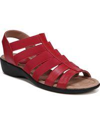 LifeStride Toni Medium/wide Sandals - Red