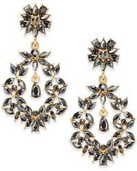Dannijo Laurel Chandelier Earrings in Blue | Lyst