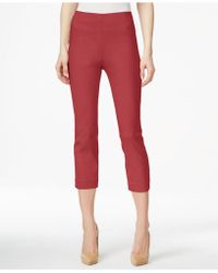 Style & Co. - Pull-on Capri Trousers, Only At Macy's - Lyst
