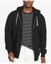 e83daf197 Polo Ralph Lauren Performance Fleece Hoodie in Black for Men - Lyst