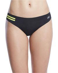 2xist 2(x)ist Athletic Bonded Micro Thong Underwear - Black