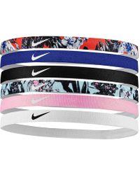 Nike Printed Headbands (6 Pack) - Orange